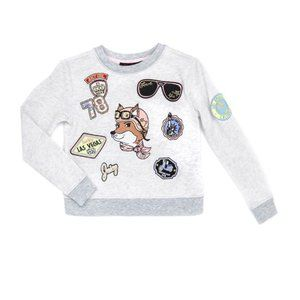 Juicy Couture Grey Sweater with Patches (8)